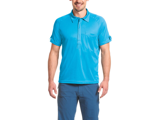 Maier Sports Fresh Polo Shirt Herren hawaiian ocean